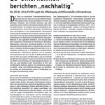 Integrierte Unternehmensberichterstattung – Sustainability Reporting